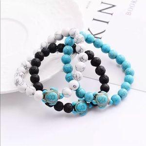 Jewelry - 🦋Natural stone turtle bracelets🦋